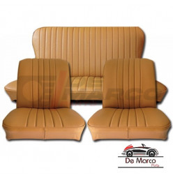 Seat covers for Renault 4 up to 1980, vinyl caramel