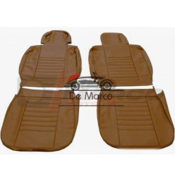 Seat covers for Renault 4 from year 1980, vinyl caramel