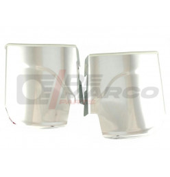 Gravel guards rear aluminium (short model) for Beetle and Super Beetle 1302/1303 (Top quality)