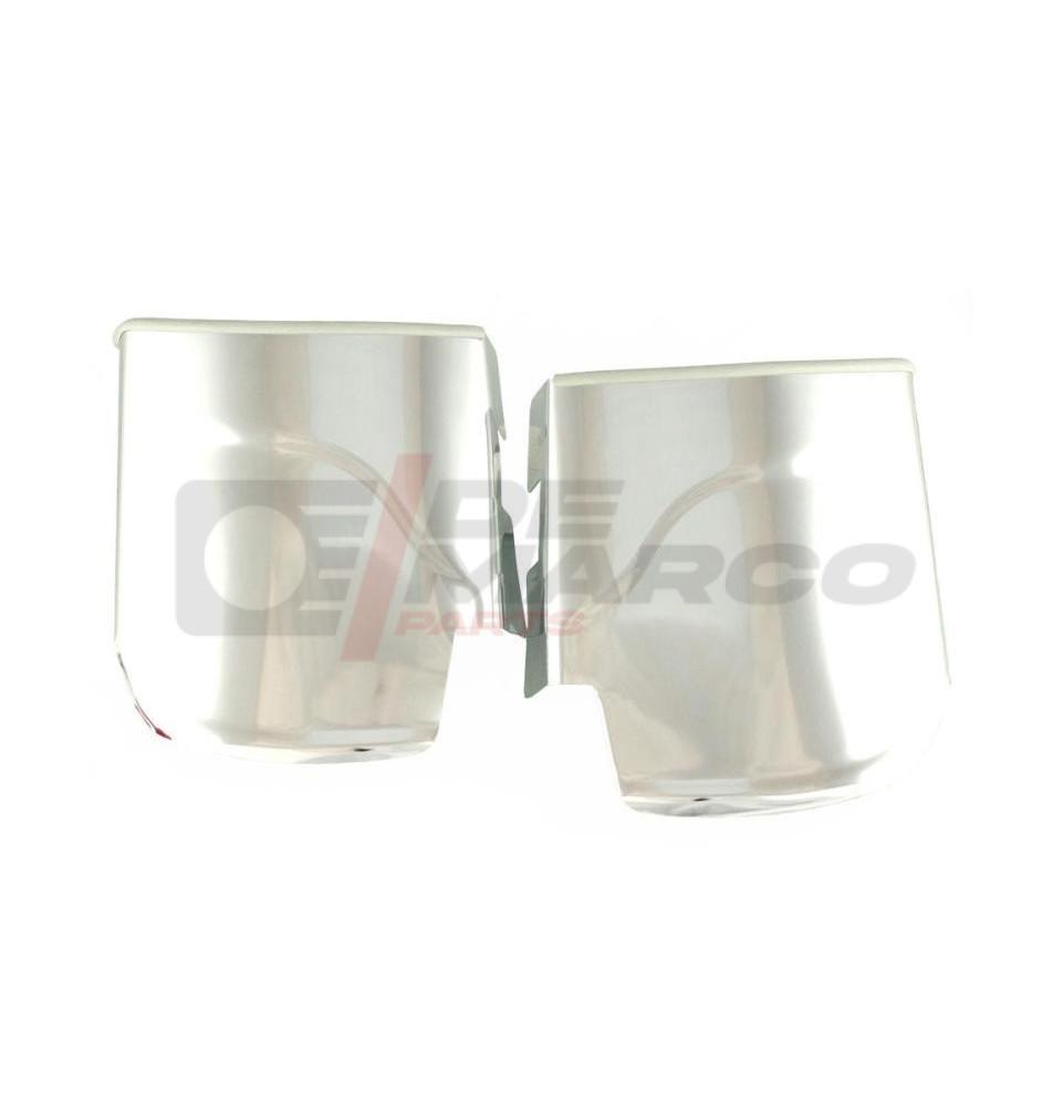 Parasassi posteriori in alluminio (modello corto) per Maggiolino e Maggiolone 1302/1303 (Alta qualità)