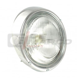 Headlight complete for Super Beetle, Beetle, Thing 181, Bus T2, Type 3