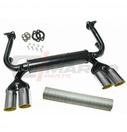 Monza exhaust 1.3/1.5/1.6cc for Beetle, Super Beetle, Buggy, Thing 181, Karmann Ghia, Bus T1, T2
