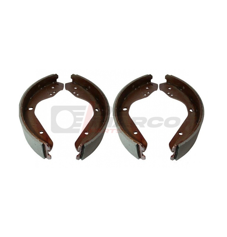 Brake shoe set front for Super Beetle 1302/1303, rear Type 3 and Type 4