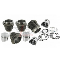Cylinder and piston set 85,50mm engine 1600 (Top quality)