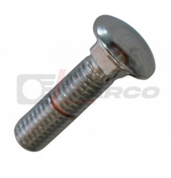 Bumper bolt chromed for Beetle up to 07/1967, Type 3, Karmann Ghia, Bus T1, T2, T25, Golf 1