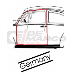 Door seal left for Beetle Sedan from 08/1955 to 07/1966 (Top quality)