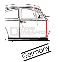 Door seal right for Beetle Sedan from 08/1955 to 07/1966 (Top quality)