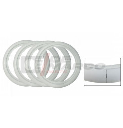 White Wall tire inserts (4,5cm) set of 4