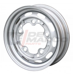 Standard wheel grey 5x205 4.5x15 ET+25 for Beetle, Buggy, Thing, KG, Type 3, Bus T1, T2, Porsche 356