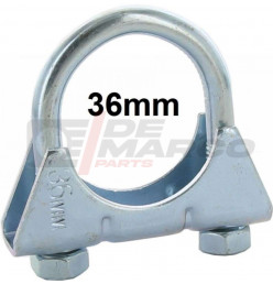 Exhaust clip 36m for R4, R5, R6...