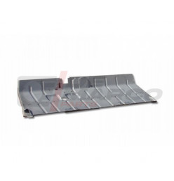 Pedaliera pianale zincato completo per Citroen 2CV