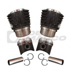 Kit pistoni e cilindri 602cc, per Citroen 2CV, Dyane, Mehari, Ami 6/8