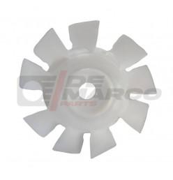 Ventola motore bianca 602cc a 9 pale, per Citroen 2CV, Dyane, Mehari, Ami 6/8