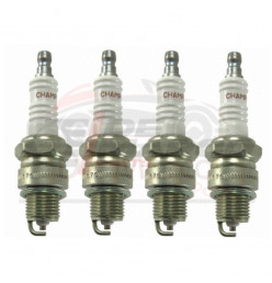 Champion spark plugs set of 4 pcs, for Volkswagen Beetle, T1, T2, KG...