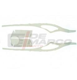 Kit feltri grigio interno padiglioni laterali per Citroen 2CV