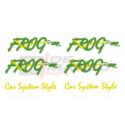 Kit stickers Renault 4 FROG