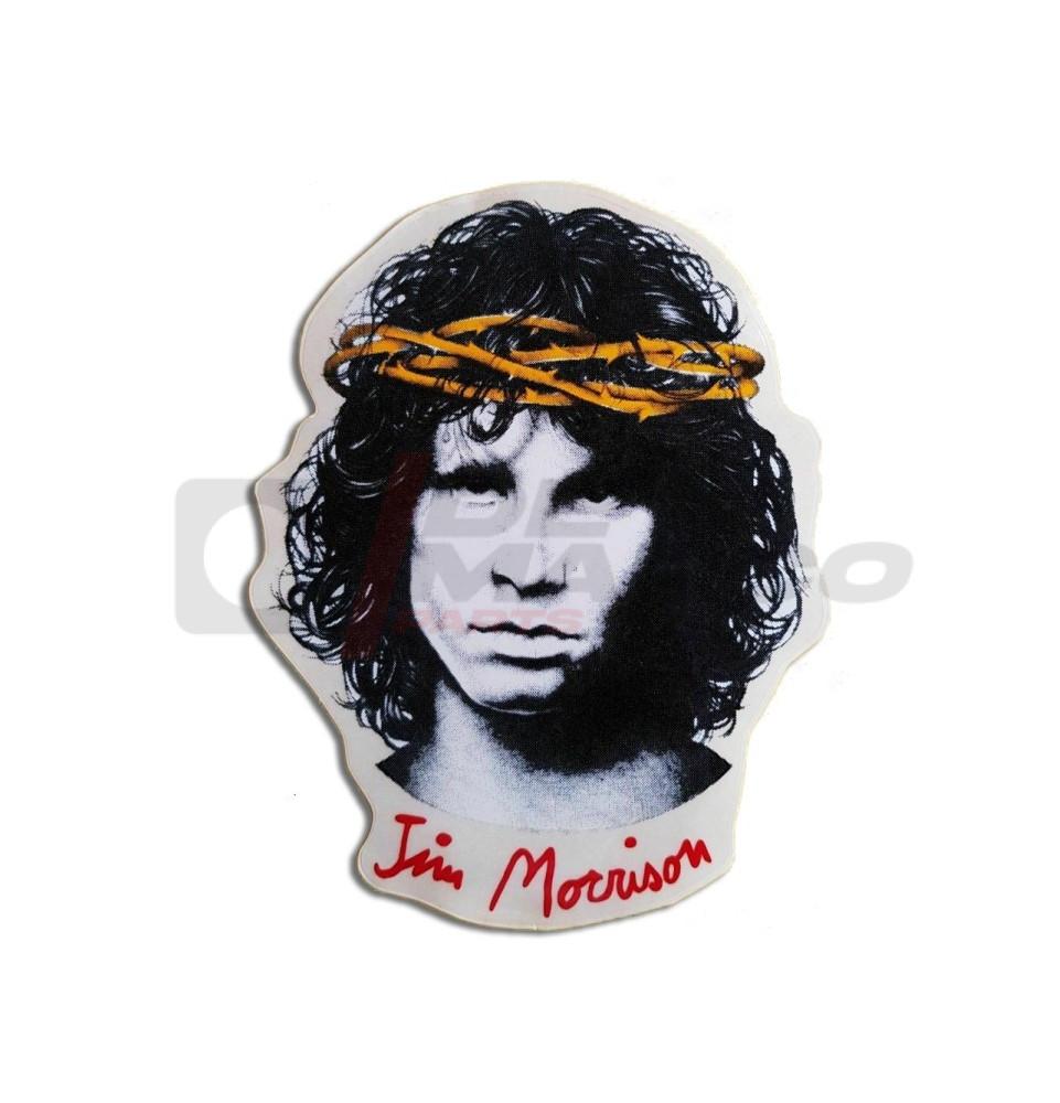 Adesivo vintage ''Jim Morrison''