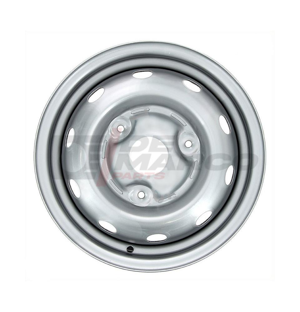 Cerchio ruota grigio originale 4.5x13 per Renault 4, R5, R6