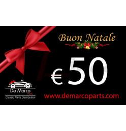 Buono regalo, BUON NATALE da 50,00 Euro