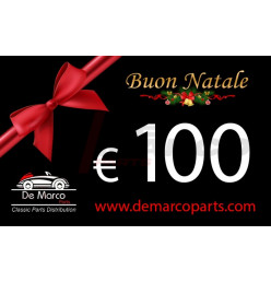 Coupon 100,00 euro MERRY CHRISTMAS