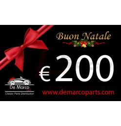Buono regalo, BUON NATALE da 200,00 euro