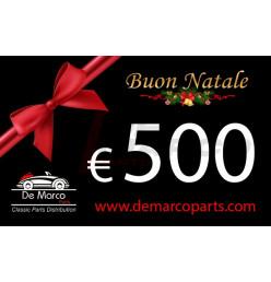 Buono regalo, BUON NATALE da 500,00 euro