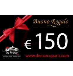 BUONO REGALO da 150,00 euro