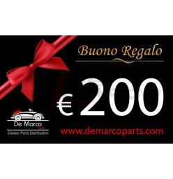 BUONO REGALO da 200,00 euro