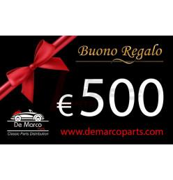 BUONO REGALO da 500,00 euro