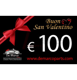Coupon 100,00 euro HAPPY VALENTINE'S DAY