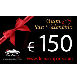 Coupon 150,00 euro HAPPY VALENTINE'S DAY