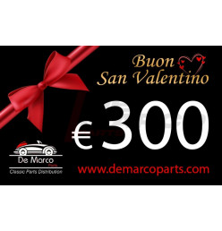 Coupon 300,00 euro HAPPY VALENTINE'S DAY