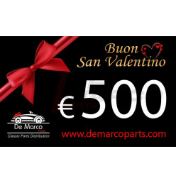 Coupon 500,00 euro HAPPY VALENTINE'S DAY