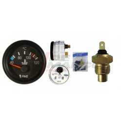 Water temperature pressure gauge kit 40-120°C, for R4, R5, R6...