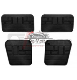 Set 4 pannelli porte vinile nero, Renault 4