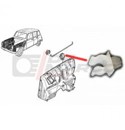Clip fissaggio asta cofano anteriore Renault 4, R4 F4, R4 F6