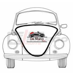 Front hood seal Beetle from 1948 to 1960 (Top quality)