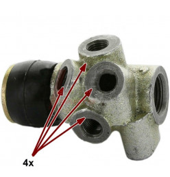 View larger Brake power controller, 4 brake line connectors for R4, R5, R12, R16