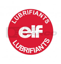 Adesivo ELF per tappo riempimento olio