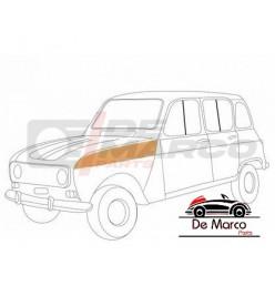 Lamierato superiore passaruota anteriore sinistro Renault 4 tutti i modelli