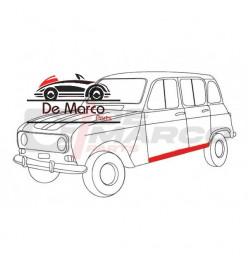 Lamierato sottoporta esterno sinistro Renault 4