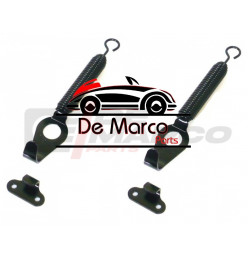 Front hood fixing set (Black Kit)