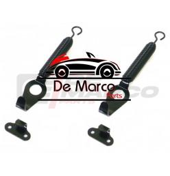 Set fissaggio cofano anteriore (Kit nero)