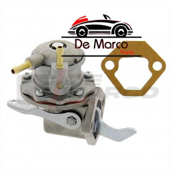 Fuel pump with manual lever for 4CV,Dauphine,R4,R8,R10,Estafette...