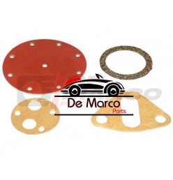 Fuel pump SEV Marchal repair set,diameter membrane 70mm with 8 holes