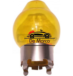 Yellow glass for halogen bulb