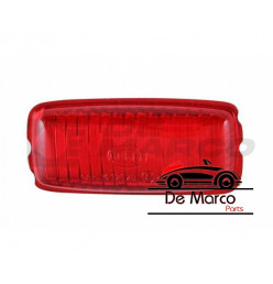 Fog rear light lens Hella for chrome lights