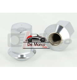 Wheel nut conical chromium-plated for Alpine wheels (M10 x 1,25)
