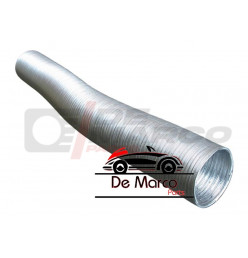 Preheating hose (aluminum) for air filter box R4, R5, R6, R16