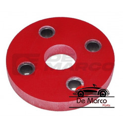 Reinforced urethane flexible disk for the steering column for R4, Dauphine, R5, R8, R14, R16, R18
